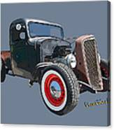 1936 Rat Rod Chevy Pickup Canvas Print