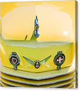 1937 Cord 812 Phaeton Grille Emblems Canvas Print