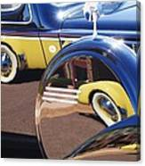 1937 Cord 812 Phaeton Reflected Into Packard Canvas Print