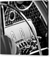 1937 Cord 812 Phaeton Steering Wheel Canvas Print