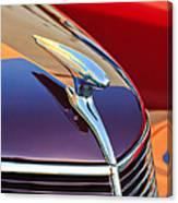 1937 Ford Hood Ornament 2 Canvas Print
