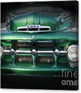1937 Ford Pick Up Truck Front End Canvas Print