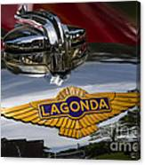 1937 Lagonda Canvas Print