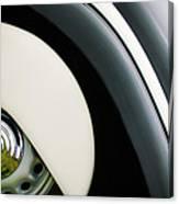 1938 Bmw 327 - 8 Cabriolet Rear Wheel Emblem -2668c Canvas Print