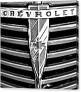 1938 Chevrolet  Canvas Print