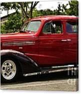1938 Chevy 4 Door Sedan Canvas Print