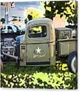 1938 Chevy Pick Up Truck Rat Rod Canvas Print