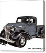 1938 Chevy Pickup Canvas Print