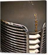 1938 Desoto 4 Door Sedan Canvas Print