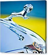 1938 Dodge Ram Hood Ornament -136c46 Canvas Print