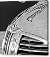 1938 Dodge Ram Hood Ornament 4 Canvas Print