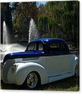 1938 Ford Coupe Hot Rod Canvas Print