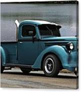 1938 Ford Pickup Truck Hot Rod Canvas Print