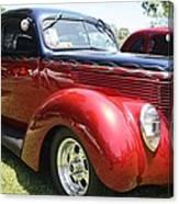 1938 Ford Two Door Sedan Canvas Print