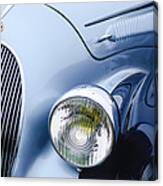 1938 Talbot-lago 150c Ss Figoni And Falaschi Cabriolet Headlight - Emblem Canvas Print