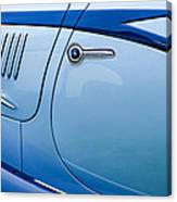 1938 Talbot-lago 150c Ss Figoni And Falaschi Cabriolet Side Door Handle Canvas Print