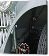 1939 Aston Martin 15-98 Abbey Coachworks Swb Sports Suspension Control Canvas Print