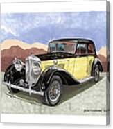 1939 Bentley Mark Four Sport Sedan Canvas Print
