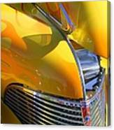 1939 Chevy Hood Canvas Print