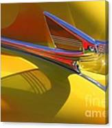 1939 Chevy Hood Ornament Canvas Print