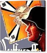 1939 German Luftwaffe Recruiting Poster - Color Canvas Print