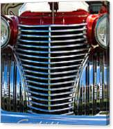 1940 Cadillac Coupe Front View Canvas Print