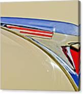 1940 Chevrolet Pickup Hood Ornament 2 Canvas Print