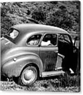 1940 Chevrolet Special Deluxe 4 Door Canvas Print