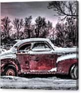 1940 Chevy Canvas Print