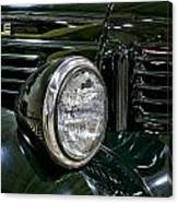 1940 Dodge Pickup Headlight Grill Canvas Print