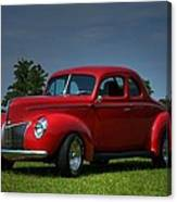 1940 Ford Coupe Canvas Print