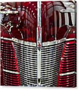 1940 Ford V8 Grill  Canvas Print