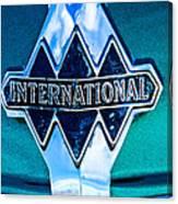 1940 International Emblem Canvas Print