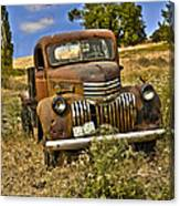 1940's Chevy Truck Canvas Print