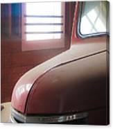 1940s Era Red Chevrolet Truck  Canvas Print