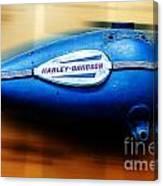 1940s Harley Tank Canvas Print