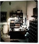 1940s Office Canvas Print