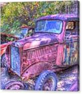 1940s Pickup Truck Canvas Print