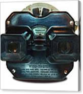 1940's View Master Stereoscopic Viewer Canvas Print