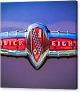 1941 Buick Eight Special Emblem Canvas Print