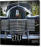 1941 Cadillac Front End Canvas Print