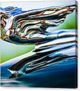 1941 Cadillac Hood Ornament 5 Canvas Print