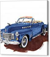 1941 Cadillac Series 62 Convertible Canvas Print