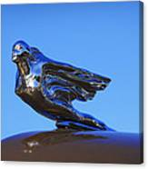 1941 Cadillac Series 62 Coupe Hood Ornament Canvas Print