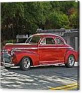 1941 Chevrolet 'super Deluxe' Coupe Canvas Print