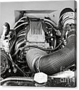 1941 Ford Pickup Engine Motor  Classic Automobile In Sepia 3082.01 Canvas Print