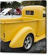 1941 Ford Pickup Truck Side View  Classic Automobile In Color 30 Canvas Print