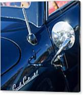 1941 Lincoln Continental Convertible Emblem Canvas Print