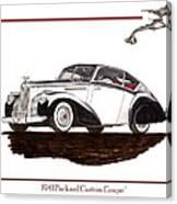 Packard Custom Coupe 120 Canvas Print