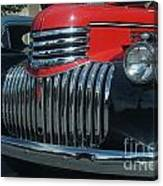1942 Chevrolet Pickup Truck Grill   # Canvas Print